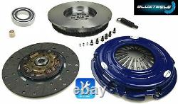 BLUSTEELE clutch kit HEAVY DUTY for NISSAN xtrail T31 QR25DE 2.5l solid FLYWHEEL