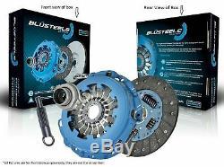 Blusteele HEAVY DUTY Clutch Kit for Nissan Navara D21 2.4 Ltr SOHC EFI KA24E
