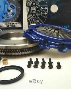 Blusteele HEAVY DUTY Clutch kit for NISSAN navara D40 & solid FLYWHEEL YD25DDTI