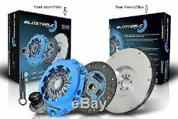 Blusteele HEAVY DUTY clutch kit & SOLID FLYWHEEL for NISSAN 370Z Coupe Z34 VQ37