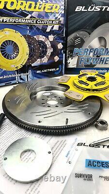 HEAVY DUTY blusteele stage 4 clutch kit for FALCON BA BF XR8 BOSS & SMF FLYWHEEL