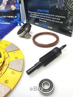 Blusteele Étape 3 Heavy Duty Coussin Bouton Kit D'embrayage Pour Subaru Wrx 2.5l 5 Sp