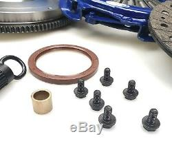 Blusteele Heavy Duty Kit D'embrayage Et Solid Volant Pour Nissan Xtrail T30 Qr25de