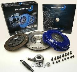 Blusteele Robuste Kit D'embrayage Et Solid Volant Pour Ford Transit Vh VM H9fb 2.4