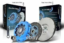 Kit D'embrayage Blusteele Heavy Duty Avec Flywheel Pour Toyota Previa Cxr11 2.2 Tdi 3c-t